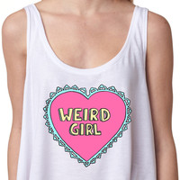 Weird Girl Crop Top