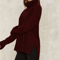 Foggy Notion Chunky Sweater