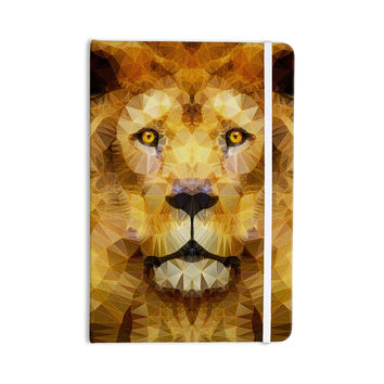"""Ancello """"Lion King"""" Yellow Brown Everything Notebook"""