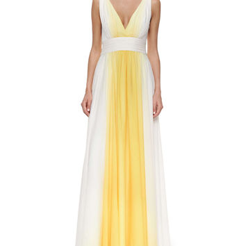 Sleeveless Ombre Flowy