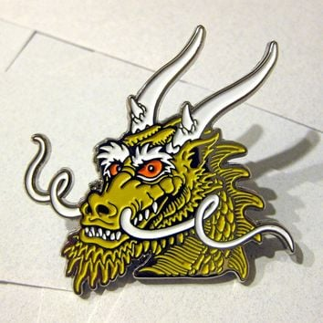 "SalsFamousPins — Steve Caballero 2"" Dragon Pin"