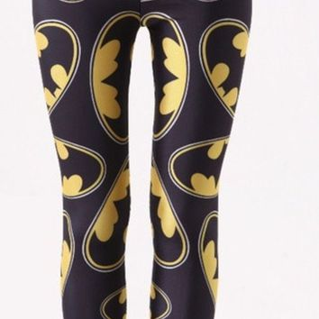CREYUG3 Batman baby printed Leggings (Color: Multicolor)