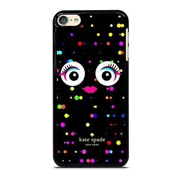 KATE SPADE COLORFULL MONSTER EYE iPhone Case