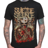 Suicide Silence Lover Skull T-Shirt