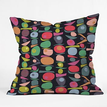 Sharon Turner Equilibrium Throw Pillow
