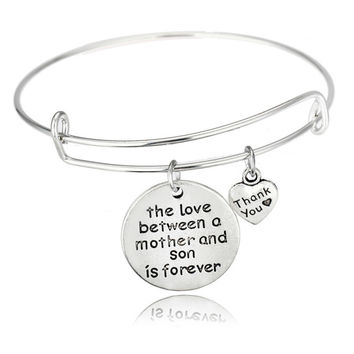 Love Between Mother And Son Bracelet