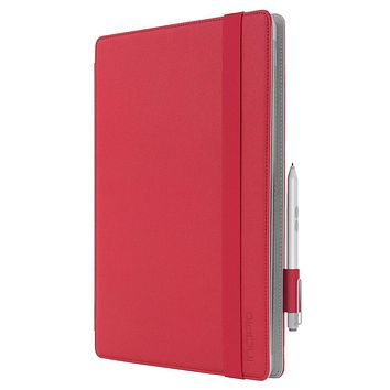 Incipio Roosevelt Slim Folio for Surface Pro 3 or 4 w/ Type Cover, Red