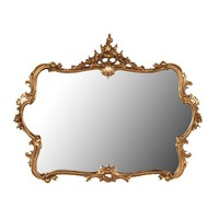 Large Gilt Mirror | Over-Mantel Mirror | Feature Mirror