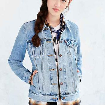 Levi's Denim Boyfriend Trucker Jacket