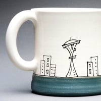 Seattle Cityscape Mug