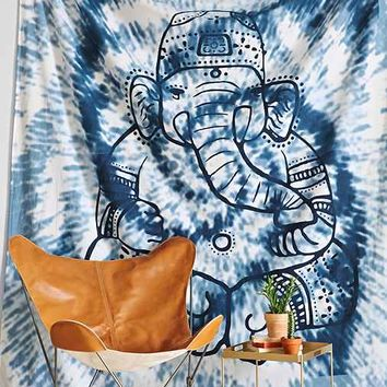 Magical Thinking Overdyed Ganesha Tapestry
