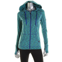 RBX Womens Moisture Wicking Zip Front Athletic Jacket