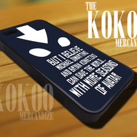 Avatar Quotes - iPhone 4/4s/5 Case - Samsung Galaxy S3/S4 Case - Blackberry Z10 Case - Black or White