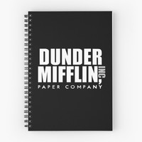 Dunder Mifflin - Black by emilysmithart