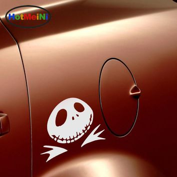 HotMeiNi Jack Nightmare Before Christmas Funny Car Sticker for Truck Door Motorcycles Laptop Kayak Vinyl Decal Pumpkin Halloween