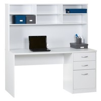 Xavier Workstation White at $297.00 in Home Office Desks
