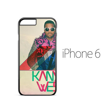 Kanye West Colorful iPhone 6 Case