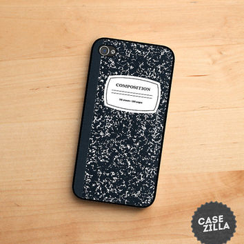 iPhone 5 Case Composition Notebook iPhone 5S Case, iPhone 4/4S Case, iPhone 5C Case