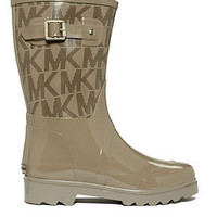 MICHAEL Michael Kors Shoes, Logo Mid Rainboots - Shoes - Macy's
