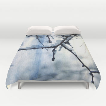 Snow and water Duvet Cover by VanessaGF | Society6