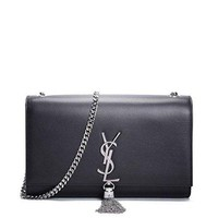 James Yves Saint Laurent Kate Black Shoulder Bag Classic New