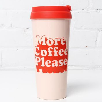 Ban.do Hot Stuff Thermal Mug - More Coffee Please