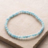 Aquamarine Mini Gemstone Energy Bracelet