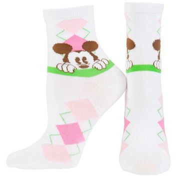 DCCKU3R Mickey Mouse - Argyle Socks