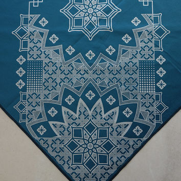 Geometric Series Bandana - Handmade Sacred Geometry Influence