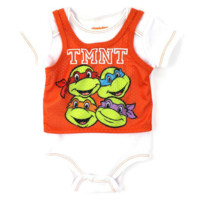 Teenage Mutant Ninja Turtles Newborn Baby's TMNT Onesuit