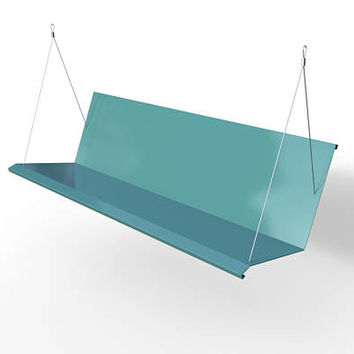 Westdale Modern Porch Swing - Powder Coated RAL 6027 Lite Green - Stainless Steel FREE SHIPPING