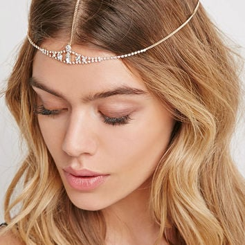 Rhinestone Head Chain