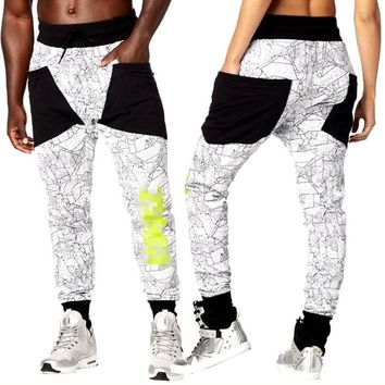 new  trousers women running  clothes cargo pants  trousers  running pants Believe In Magic Harem Dance unisex pants P170