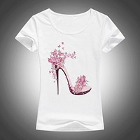 Beautiful Printed T-Shirt For Spring