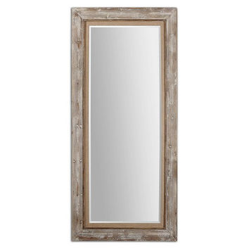 Uttermost Fardella Wood Floor Mirror - 13850