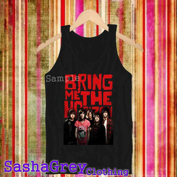 Bring Me The Horizon Black _ Tank Top Men's Size S - XXL Design By : sashagreystore