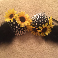 Sunflower Rave Bra