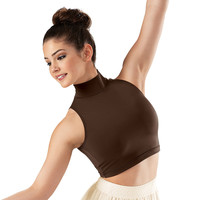 Sleeveless Turtleneck Crop Top; Balera