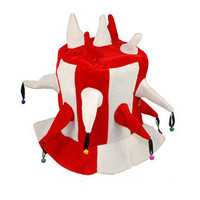 Halloween Multi Angle Bell Magic Hat Clown Hat Football Match Bar Essential Product Carnival Hat B-1918