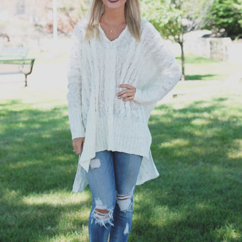Cozy Up Sweater - Ivory