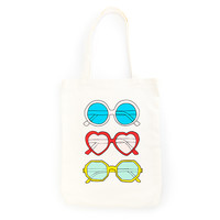 canvas tote - sunnies