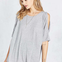 Project Social T Bree Cold Shoulder Tee - Urban Outfitters