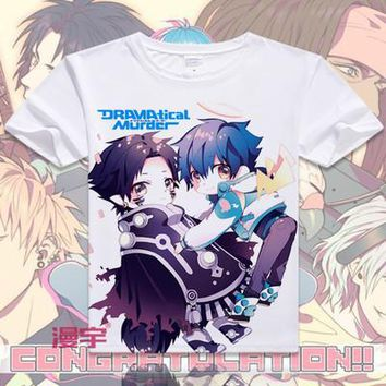 Dramatical Murder Short Sleeve Anime T-Shirt V19