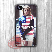 lana del rey supreme-1nyy for iPhone 4/4S/5/5S/5C/6/ 6+,samsung S3/S4/S5,samsung note 3/4
