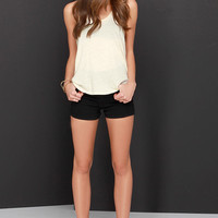 Obey Patti Cream Tank Top