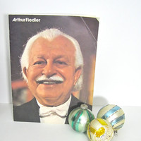 ON SALE Vintage Book The Boston Pops Arthur Fiedlers Favorites Time Life Magazine