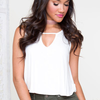 Mariah Top - White