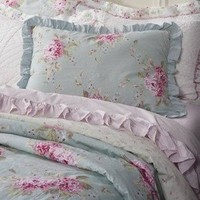 Simply Shabby Chic Hydrangea Duvet Cover Set - Twin