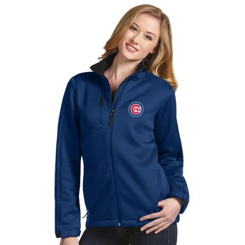 Chicago Cubs Women's Traverse Heavyweight Jacket by Antigua