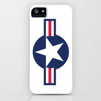 US Air force Roundel insignia iPhone & iPod Case by Bruce Stanfield